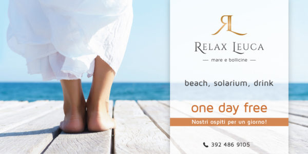 Relax Leuca - One day free